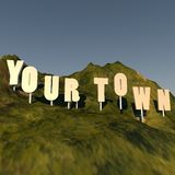 Your town Stock Images