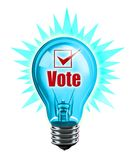 Your Vote Counts. Digital illustration concept of Voting is a good idea Stock Photography