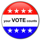 Your Vote Counts Royalty Free Stock Image