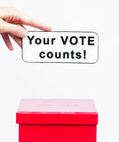 Vote concept Royalty Free Stock Images