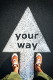 Your way Stock Photo