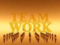 Your work team, teamwork Royalty Free Stock Photography