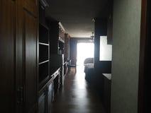 Yourseft del sitio de la cama de la propiedad horizontal fotos de archivo libres de regalías