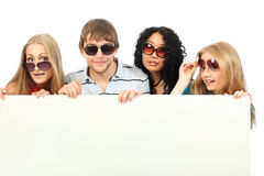 Youth advertising Royalty Free Stock Images
