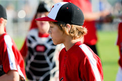 Youth baseball boy Royalty Free Stock Photo