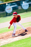 Youth pitcher Royalty Free Stock Photo