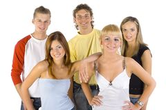 Youth building a future Stock Photography