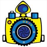 Youth camera isolated on white. Background Stock Photography