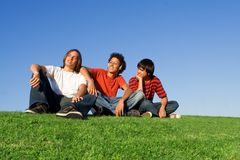 Youth chilling out Royalty Free Stock Image