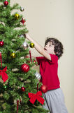 Youth and Christmas Stock Photography