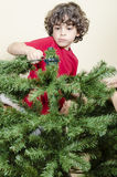 Youth and Christmas Stock Images