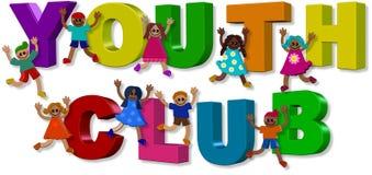 Youth Club Kids stock illustration
