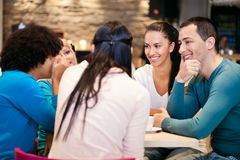 Youth conversation Stock Image