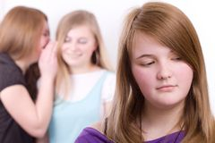 Youth in crisis Stock Image
