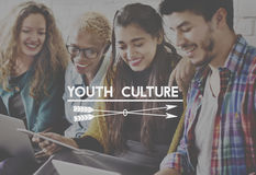 Youth Culture Generation Lifestyle Young Teens Concept Stock Image
