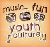 Youth culture Stock Image