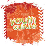 Youth culture stock illustration