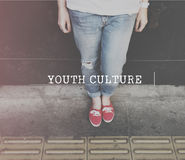 Youth Culture Teen Age Fun Concept Stock Photo