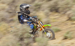 Youth Dirtbiker Racer Royalty Free Stock Image