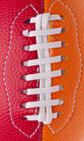 Youth Football Close Up Stock Photo