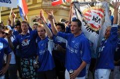 Youth Football Festival Kaposvar Stock Image