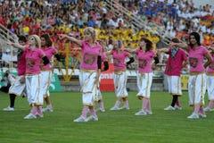 Youth Football Festival Kaposvar Stock Photography