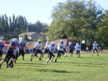 Youth Football Season stock images