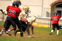 Youth Football1. Youth playing football Stock Photography