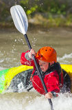 Youth Freestyle Kayaker Royalty Free Stock Photography