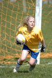Youth girls Soccer Player Stock Photos