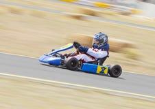Youth Go Kart Racer Royalty Free Stock Photo