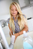 Youth and hygiene Royalty Free Stock Images