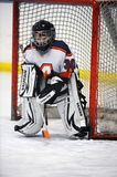 Youth Ice Hockey. Arizona youth ice hockey league with both girls and boys play in game action located in Gilbert Arizona in the Southwest part of the United stock photography