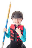 Youth Kayaker Royalty Free Stock Photography