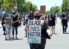 Youth led Black Lives Matter protest on 4th of July