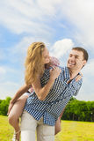 Youth Lifestyle, Summer Vacations, Dating, Love, Happiness Conce Royalty Free Stock Photos
