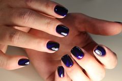 Youth manicure design Royalty Free Stock Photography