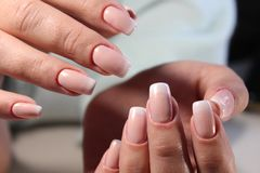Youth manicure design Stock Photography