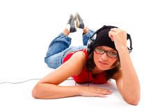 Youth and music Royalty Free Stock Image