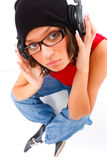 Youth and music Stock Image