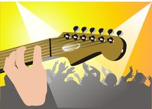 Youth musical party Royalty Free Stock Image