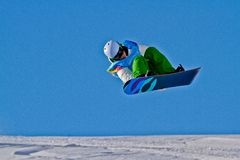 Youth Olympic Games 2012. KUEHTAI, AUSTRIA - JANUARY 14 Tim-Kevin Ravnjak (Slovenia) places second in the men's halfpipe event on January 14, 2012 in Kuehtai Stock Image
