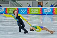 Youth Olympic Games 2012 Royalty Free Stock Image