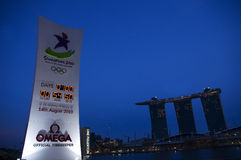 Youth olympic games, singapore 2010 Stock Image