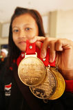 Youth paragames athlete Royalty Free Stock Images