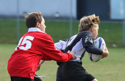 Youth rugby championship. Under 14 Italian rugby's Championship Royalty Free Stock Photos