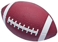 Youth Sized Football Royalty Free Stock Photography