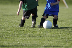 Youth Soccer. Kids Playing Youth Soccer Stock Photos