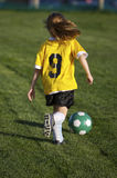 Youth Soccer royalty free stock photo