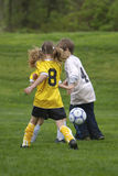 Youth Soccer. Game Stock Photography